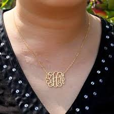 3 initial monogram necklace sterling silver personalized circle monogram necklace silver name necklace 3