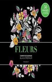 Collectif  Black premium Fleurs