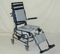 shower commode chair activeaid 283 tilt in space plus activeaid