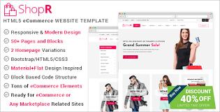 26 best online store website templates free u0026 premium themes