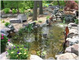 backyards impressive backyard pond design small garden pond