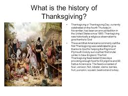 When Was Thanksgiving Celebrated Happy Thanksgiving Student Name Zachary Mcgillivary Date Mr