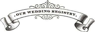 wedding registry money gift registry