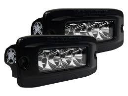 rigid industries led driving lights buy rigid sr qf white flood led light pair