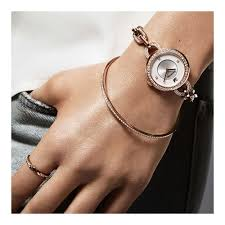 gold tone bracelet images Swarovski aila rose gold tone bracelet watch 1094379 watches jpg