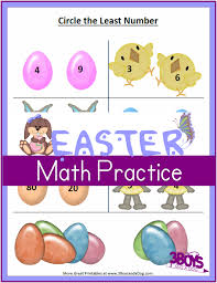 printable easter worksheets greater than and less than 2nd grade