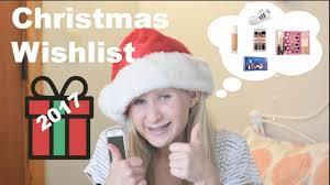 my ultimate christmas wish list teen gift guide 2017 youtube