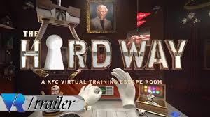 the hard way a kfc virtual training escape room trailer youtube