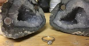 i made my so a geode engagement ring box album on imgur