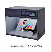 printing paint plastic color matching light box color viewing