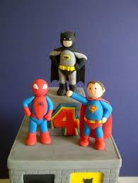fondant cake topper 20 piece captain america superhero themed