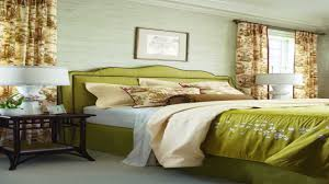 interior exciting image of green bedroom decoration with calico