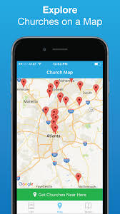 Best Map App Church Finder The Best App For Locating Churches Near You