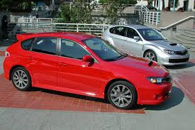 subaru red 2009 subaru wrx the excitement is back