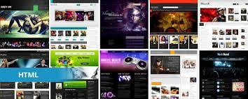 15 free music html website templates templatemag