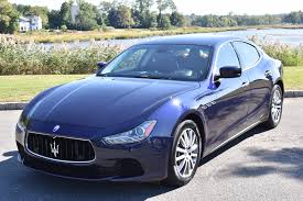 maserati ghibli blue 2014 maserati ghibli s q4 stock 7286 for sale near great neck