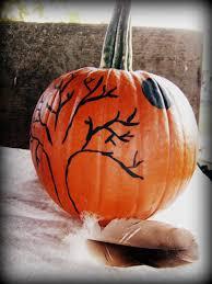 dear molly anne painted pumpkins