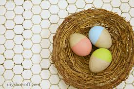 Easter Egg Decorating On Paper by Dip Dyed Painted Paper Mache Easter Egg Craft Tutorialdiy Show