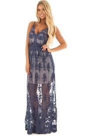 navy maxi dress navy maxi dress with navy floral design lime lush boutique