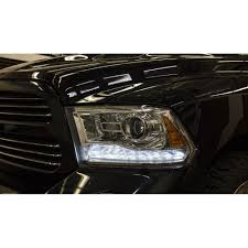 Dodge Ram Decals - ram daytime running light switchback boards led white amber kit