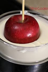 bloody candy apples halloween or true blood recipe 1 fine cookie