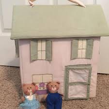 Pottery Barn Dollhouse Find More Pottery Barn Kids Fabric Dollhouse For Sale At Up To 90