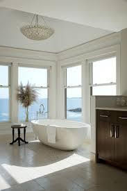 Contemporary Master Bathroom 20 Luxurious Bathrooms With A Scenic View Of The Ocean