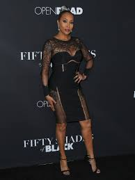 Shades Of Black Vivica A Fox Photos Celebrities Attend The U0027fifty Shades Of