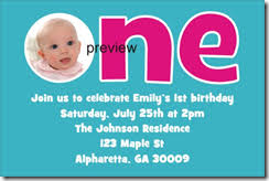 1st birthday party invitation templates iidaemilia com