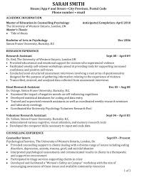 academic resume template 6 academic resume templates academic