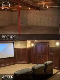 steve u0026 elaine u0027s basement before u0026 after pictures basements