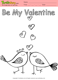 love birds coloring sheet turtle diary