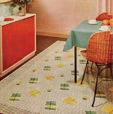 Retro Linoleum Floor Patterns by History Of Linoleum Rugs Old House Restoration Products