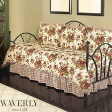 norfolk rose floral daybed bedding set by waverly