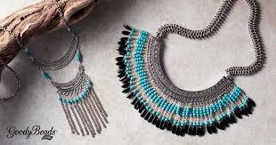 boho bib necklace images Boho inspired bib necklaces with free tutorial goodybeads blog jpg