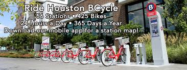 Chicago Divvy Map Houston Bcycle Bike Share In Houston