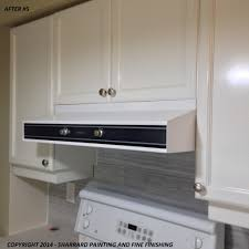 Professionally Painted Kitchen Cabinets by Spray Paint Kitchen Cabinets