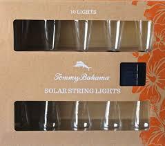 outdoor string lights solar tommy bahama solar string lights 10 lights per new in box outdoor