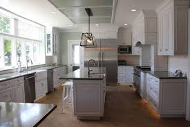 Painted Gray Kitchen Cabinets Kitchen Countryhens With Painted Cabinets Gray White