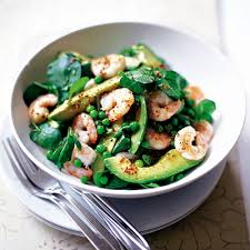New Dinner Recipe Ideas Prawn And Avocado Salad With Lemon Dressing Woman And Home