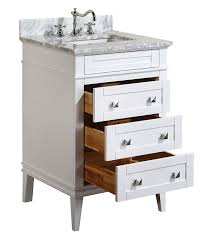 White Bathroom Vanity 30 Inch by Kitchen Bath Collection Kbc L24wtcarr Eleanor Bathroom Vanity With
