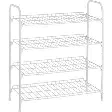 honey can do 4 tier wire shoe and accessory shelf closet shelves