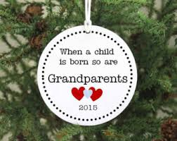 grandparent christmas ornaments grandparents to be christmas ornament personalized christmas