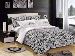 leopard and zebra print bedding 3984