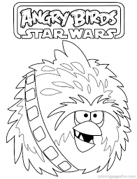 angry birds star wars coloring sheets kids coloring