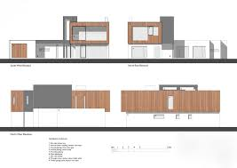house elevations gallery of zinc house ob architecture 19