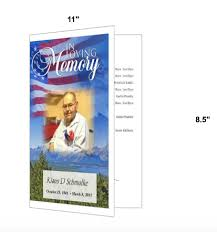Downloadable Funeral Program Templates Funeral Program Template