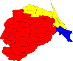map of oldham map local elections 2015 oldham