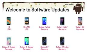 list of android versions t mobile posts list of samsung and htc phones to receive android