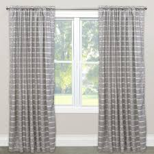 Single Blackout Curtain Skyline Furniture Striped Blackout Rod Pocket Single Curtain Panel